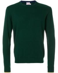 Темно-зеленый свитшот