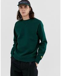 Мужской темно-зеленый свитшот от Carhartt WIP