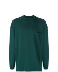Мужской темно-зеленый свитшот от Yeezy