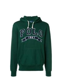 Мужской темно-зеленый худи от Polo Ralph Lauren
