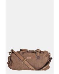 Темно-коричневая дорожная сумка