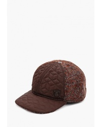 Мужская темно-коричневая кепка от GT Gualtiero