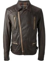 темно коричневая косуха original 8635197