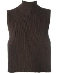 Женская темно-коричневая шерстяная водолазка от EACH X OTHER