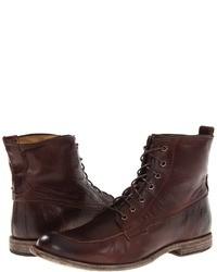 темно коричневые ботинки original 7274201