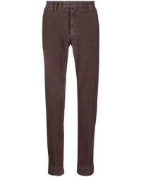 Темно-коричневые брюки чинос от Briglia 1949