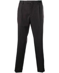 Темно-коричневые брюки чинос от Dell'oglio