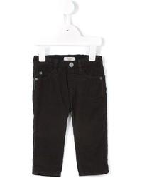 Детские темно-коричневые брюки для мальчику от Armani Junior
