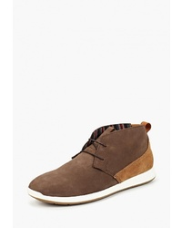 Темно-коричневые замшевые ботинки дезерты от Beppi
