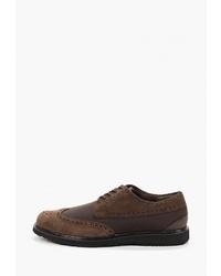 Темно-коричневые замшевые ботинки дезерты от Swims