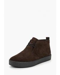 Темно-коричневые замшевые ботинки дезерты от Vagabond