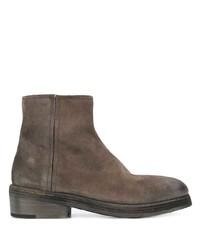 Мужские темно-коричневые замшевые ботинки челси от Marsèll