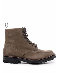 Мужские темно-коричневые замшевые повседневные ботинки от Church's