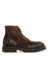 Мужские темно-коричневые замшевые повседневные ботинки от Doucal's