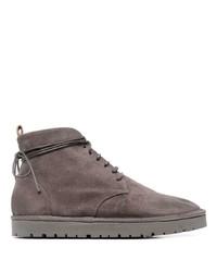 Мужские темно-коричневые замшевые повседневные ботинки от Marsèll