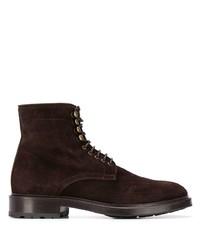 Мужские темно-коричневые замшевые повседневные ботинки от Scarosso