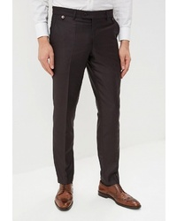 Мужские темно-коричневые классические брюки от Absolutex