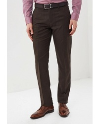 Мужские темно-коричневые классические брюки от BAWER