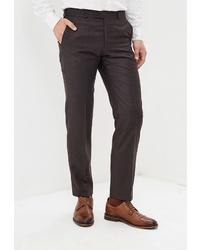 Мужские темно-коричневые классические брюки от Mishelin