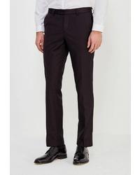 Мужские темно-коричневые классические брюки от STENSER