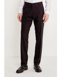Мужские темно-коричневые классические брюки от WHITNEY