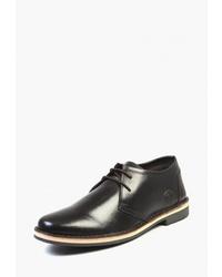Темно-коричневые кожаные ботинки дезерты от Airbox