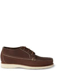 Темно-коричневые кожаные ботинки дезерты от Red Wing Shoes