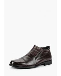 Мужские темно-коричневые кожаные ботинки челси от T.Taccardi