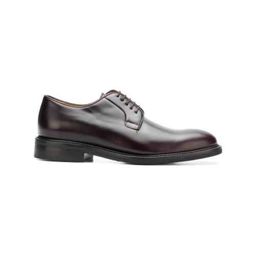 Темно-коричневые кожаные туфли дерби от Berwick Shoes