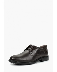 Темно-коричневые кожаные туфли дерби от Woods by Woodland