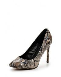 Темно-коричневые кожаные туфли от Dorothy Perkins