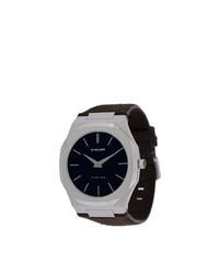 Мужские темно-коричневые кожаные часы от D1 Milano
