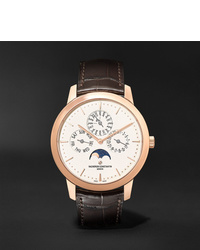 Мужские темно-коричневые кожаные часы от Vacheron Constantin