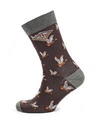 Мужские темно-коричневые носки от Heritage