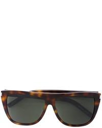 Женские темно-коричневые солнцезащитные очки