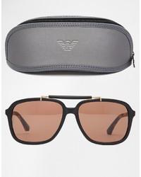 Мужские темно-коричневые солнцезащитные очки от Emporio Armani   Где ... 61e77112cfb