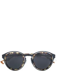 Женские темно-коричневые солнцезащитные очки от Christian Dior
