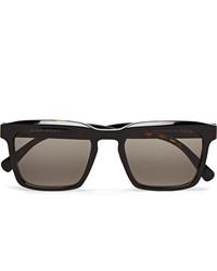 Мужские темно-коричневые солнцезащитные очки от Dick Moby
