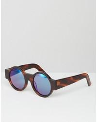 Женские темно-коричневые солнцезащитные очки от House of Holland