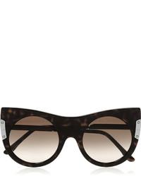 Женские темно-коричневые солнцезащитные очки от Stella McCartney