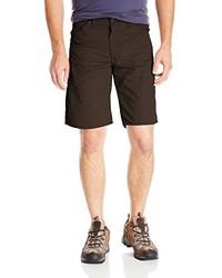 Темно-коричневые шорты