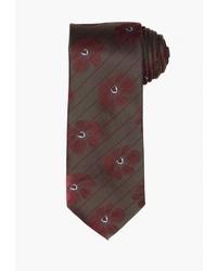 Мужской темно-коричневый галстук от Angelo Bonetti