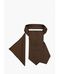 Мужской темно-коричневый галстук от Fayzoff S.A.