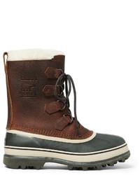 Мужской темно-коричневый зимние ботинки от Sorel
