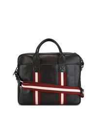 Темно-коричневый кожаный портфель от Bally