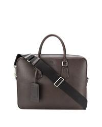 Темно-коричневый кожаный портфель от Church's