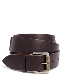 Женский темно-коричневый кожаный ремень от Black & Brown