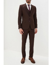 Темно-коричневый костюм от Absolutex