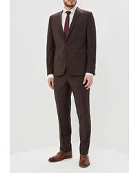 Темно-коричневый костюм от Bazioni