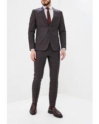 Темно-коричневый костюм от Laconi